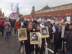"""Преподаватели кафедры участвовали в шествии """"Бессмертный полк"""""""